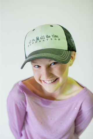 ALL IN Low Profile Trucker Hat - All In All The Time Foundation