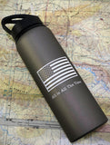ALL IN Aluminum 28 oz Water Bottle - All In All The Time Foundation