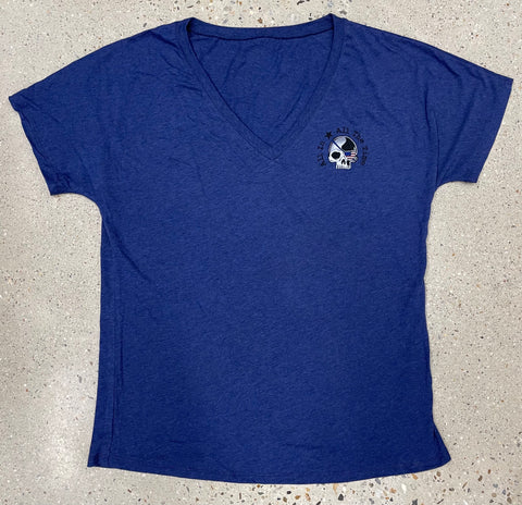 Navy Triblend New Logo - Women's