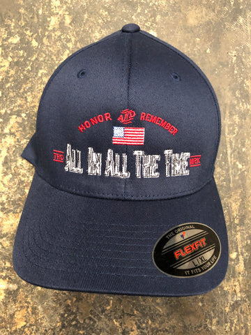 ALL IN Navy Blue Flex-Fit Hat