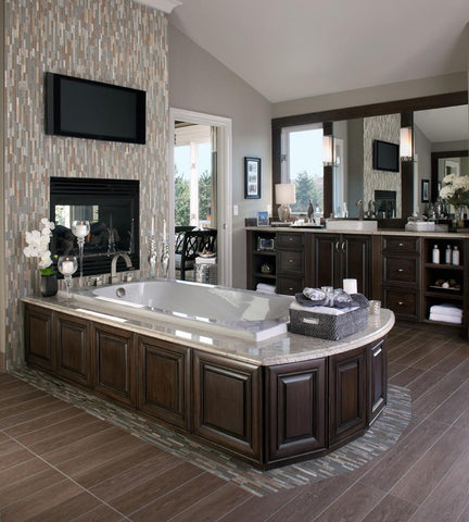 invest in your bathroom with new cabinets