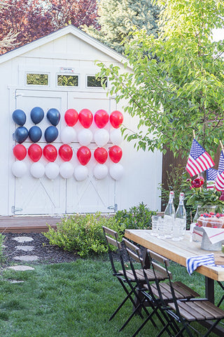 fourth of july exterior design
