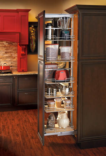 Pullout Wire Tall Pantry Accessories Lafata Cabinets