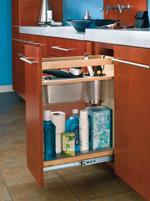 Cabinet Pullout Grooming For Bathroom Vanity Lafata Cabinets
