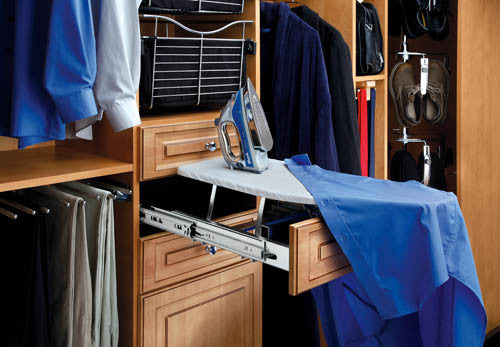 Drawer Accessories Fold Out Ironing Board for Closet