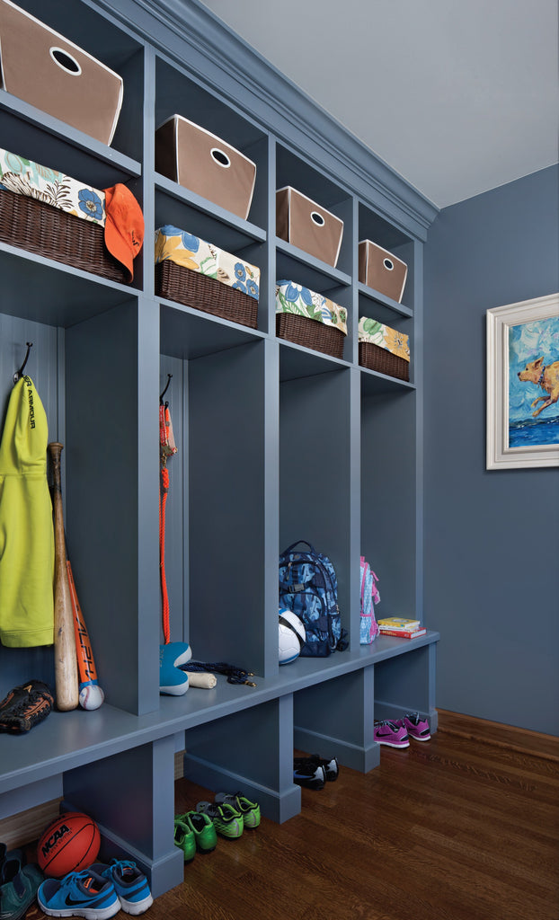 Blue Mudroom