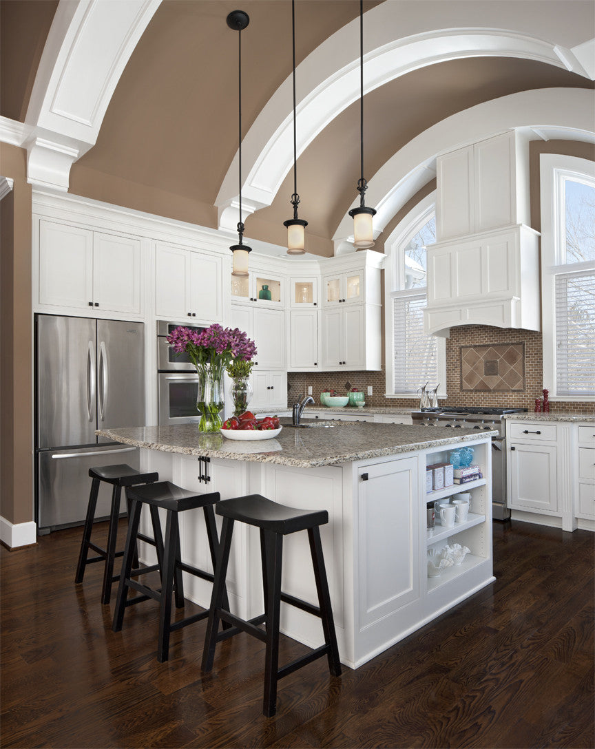 brookhaven kitchen – lafata cabinets