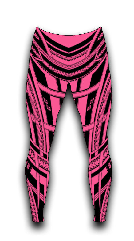 PINK COMPRESSION LEGGINGS