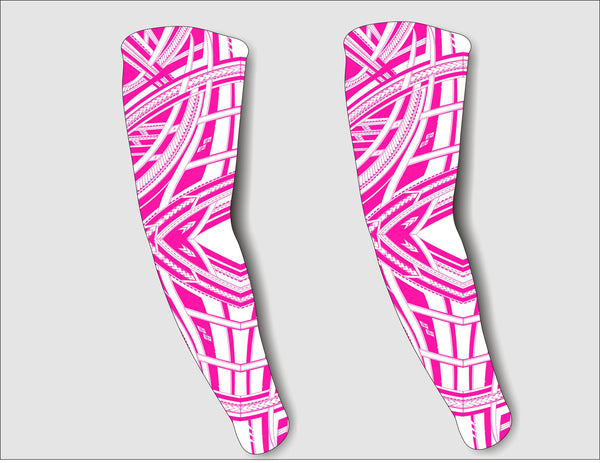PINK COMPRESSION SLEEVES