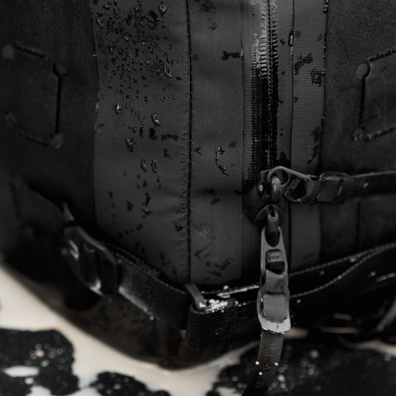 Black Ember Waterproof Modular Backpack