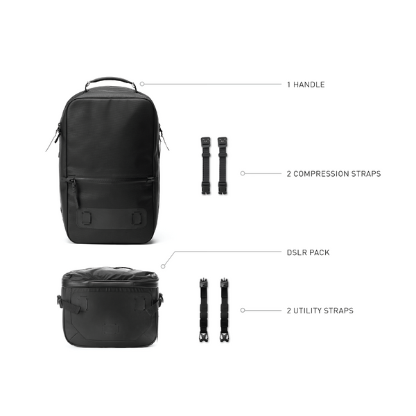 Minimal Technical Camera Backpack