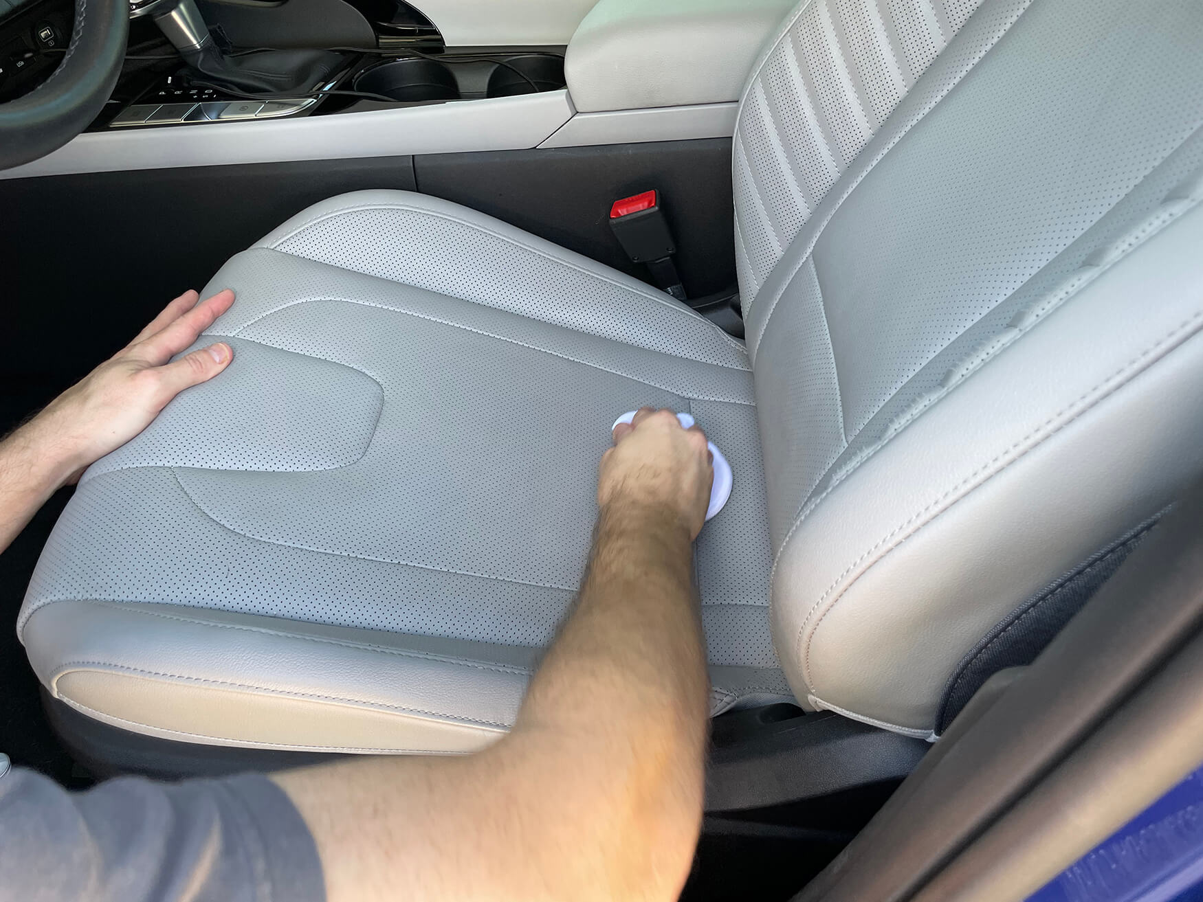 Conditioning Leather Car Seats