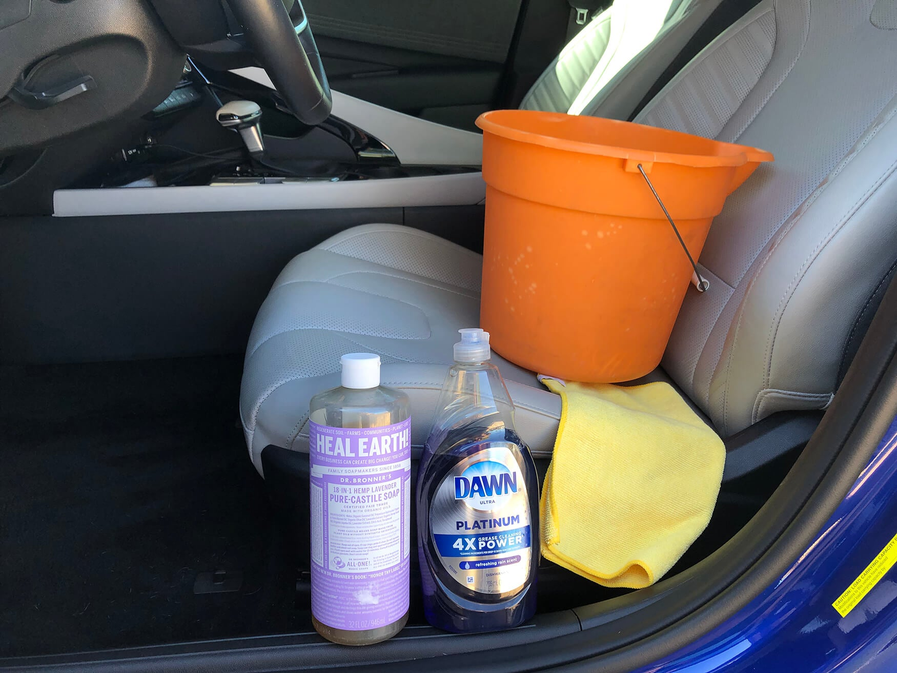 Tools to Clean Leather Car Seats