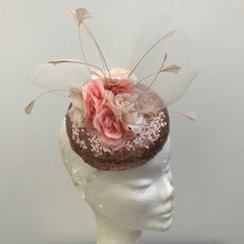 Rose Gold Fascinator - My Fascinators