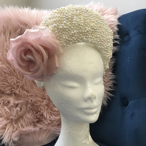 Pearl Crown Halo Fascinator