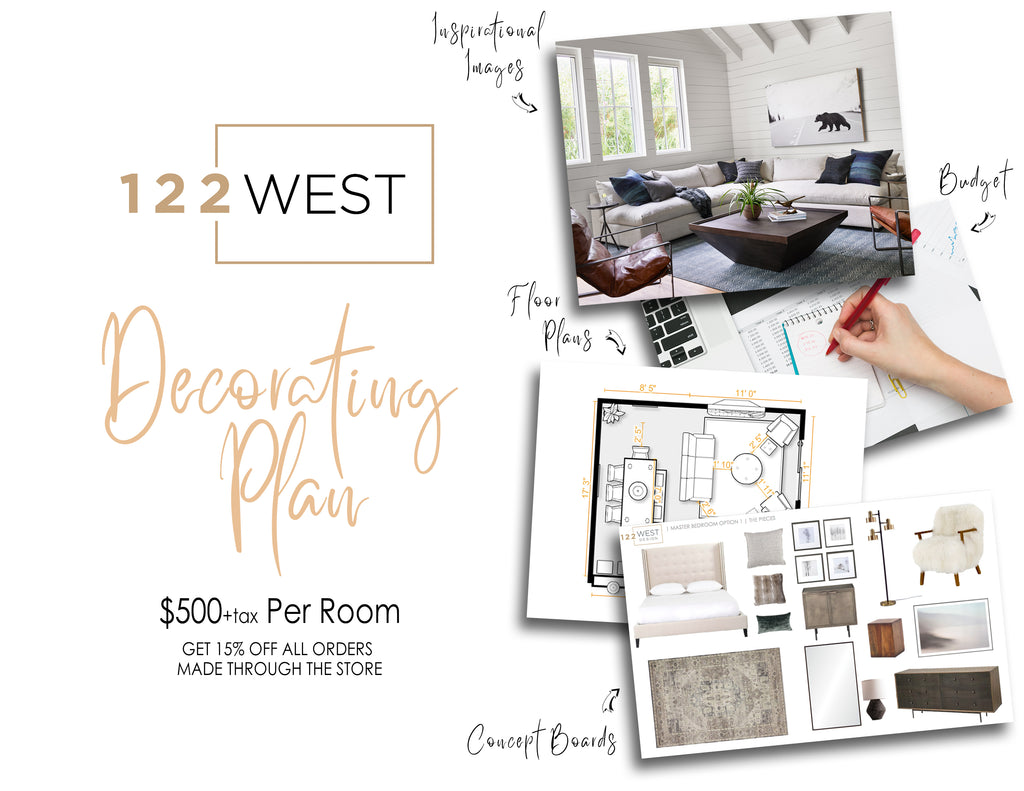 Decorating Plans 122 West