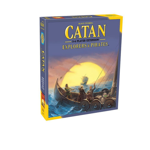 Settlers of Catan Explorers & Pirates Extension