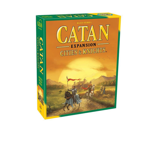 Settlers of Catan Cities and Knights Expansion - Why-Games