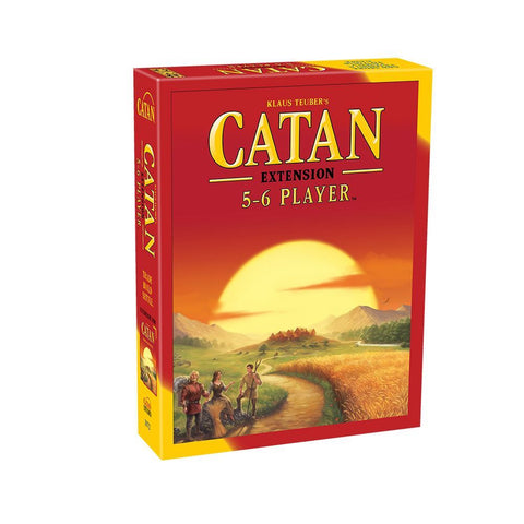 Settlers of Catan 5 and 6 Player extension