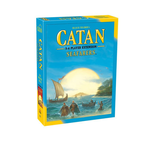 Settlers of Catan Seafarers 5 to 6 Player Extension - Why-Games