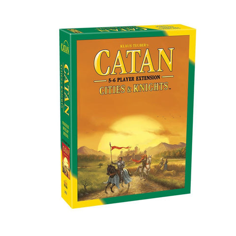 Settlers of Catan Cities and Knights 5 to 6 Player Extension - Why-Games
