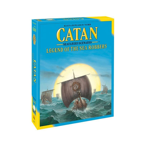 Settlers of Catan Legend of the Sea Robbers