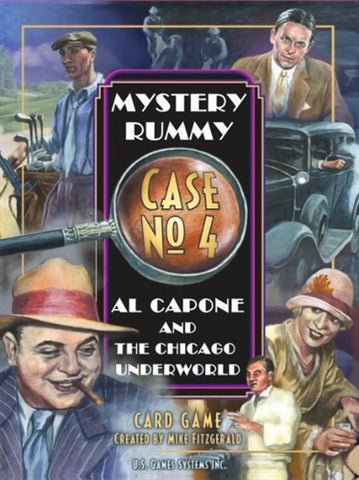 Mystery Rummy Case No. 4 Al Capone and the Chicago Underworld - Why-Games