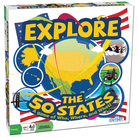 Explore the 50 States - Why-Games