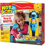 Hot Dots Jr. Let's Master Pre-K Math