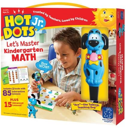 Hot Dots Jr. Let's Master Kindergarten Math