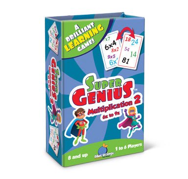 Super Genius Multiplication 2 - Why-Games