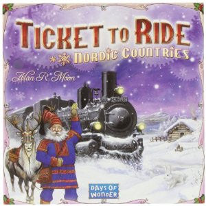 Ticket To Ride Nordic Countries - Why-Games