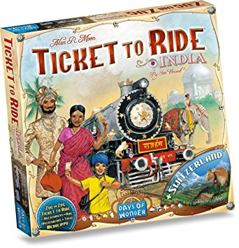 Ticket To Ride India Map Collection 2