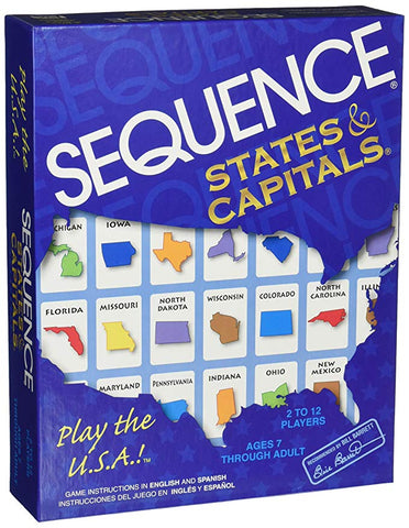 Sequence States & Capitals - Why-Games