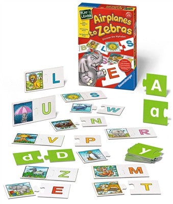 Airplanes to Zebras-Discover the Alphabet - Why-Games