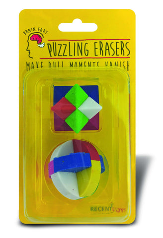 Brain Fart Puzzle Erasers - Why-Games