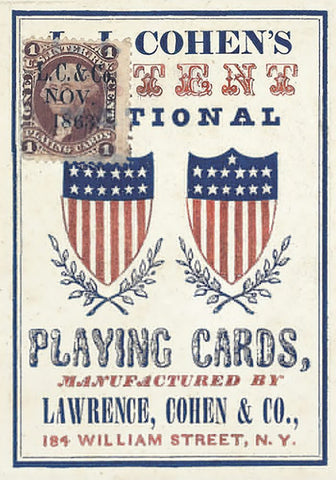 1863 Patent National