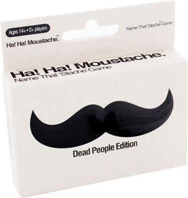 Ha! Ha! Moustache: Dead People - Why-Games