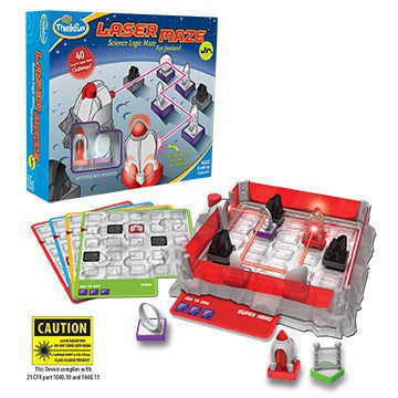 Laser Maze Jr. Beam-Bending Logic Game - Why-Games