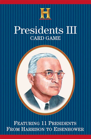 Presidents III Playing Cards - Why-Games