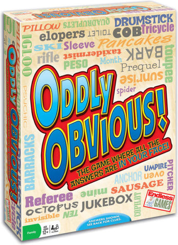 Oddly Obvious - Why-Games