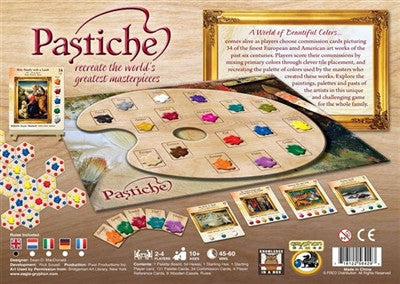 Pastiche International Edition - Why-Games