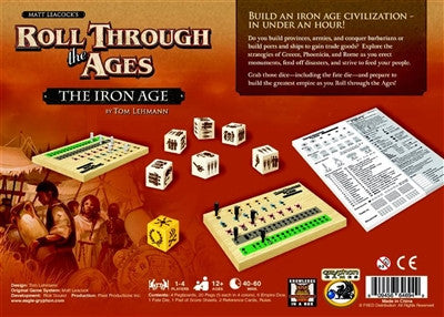 Roll Through the Ages: The Iron Age - Why-Games
