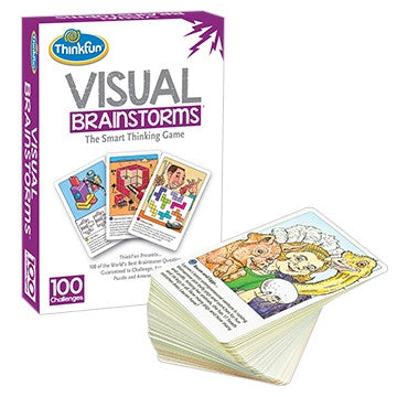 Visual Brainstorms-The Smart Thinking Game - Why-Games
