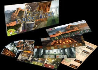 7 Wonders Wonder Pack Expansion - Why-Games