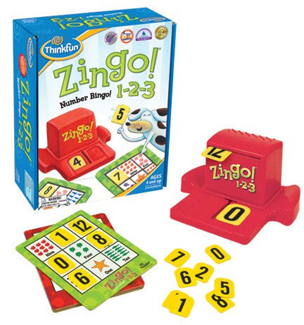 Zingo! Number Bingo - Why-Games