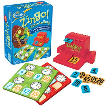 Zingo! Time-Telling - Why-Games
