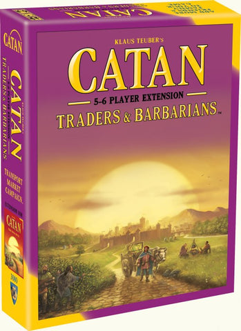 Settlers of Catan Traders and Barbarian 5 to 6 Player Extension