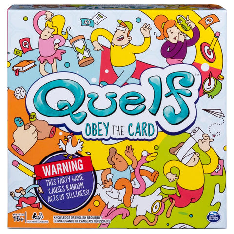 Quelf Obey the Card - Why-Games