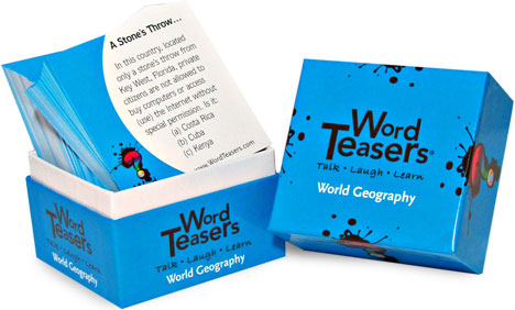 Word Teasers-World Geography